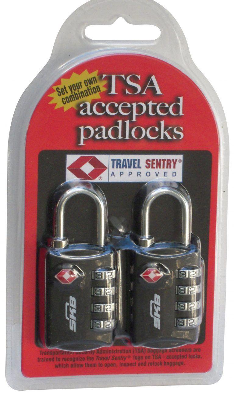 Tsa Combo Locks 2 Pack Case Club Cases Travel Lock Water Proof Case Tsa