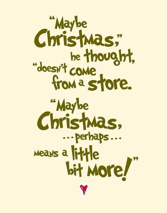 Grinch Quotes Christmas Subway Art The Grinch Quote by betterlettersart on Etsy  Grinch Quotes