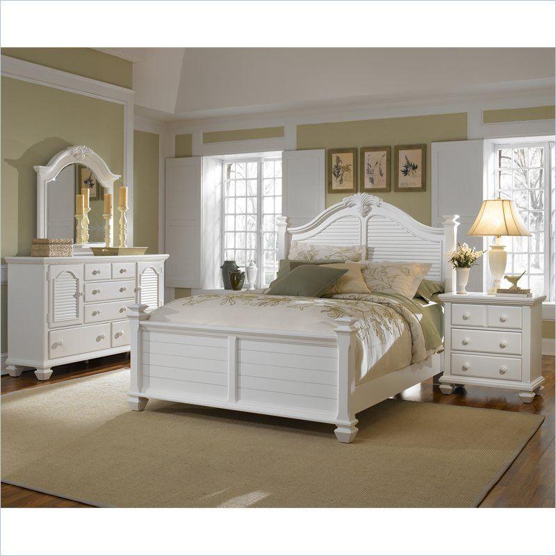Best Broyhill Mirren Harbor Poster Bed 4 Piece Bedroom Set In 640 x 480