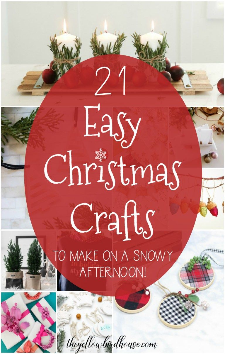 21 Fun and Easy DIY Christmas Crafts