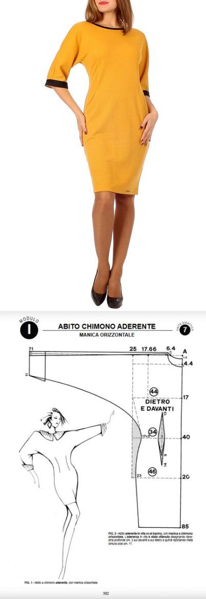 La costura | los patrones simples | las cosas simples. El vestido ...