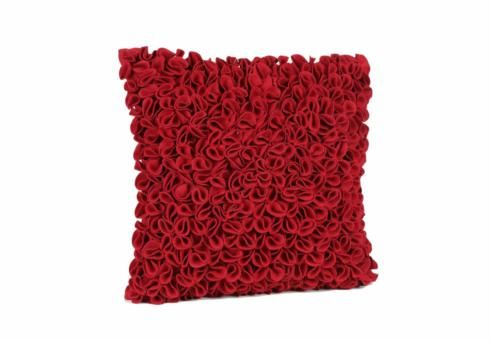 Scarlet Evie Cushion From Furniture Village. Just A Splash Of Red On My Bed.