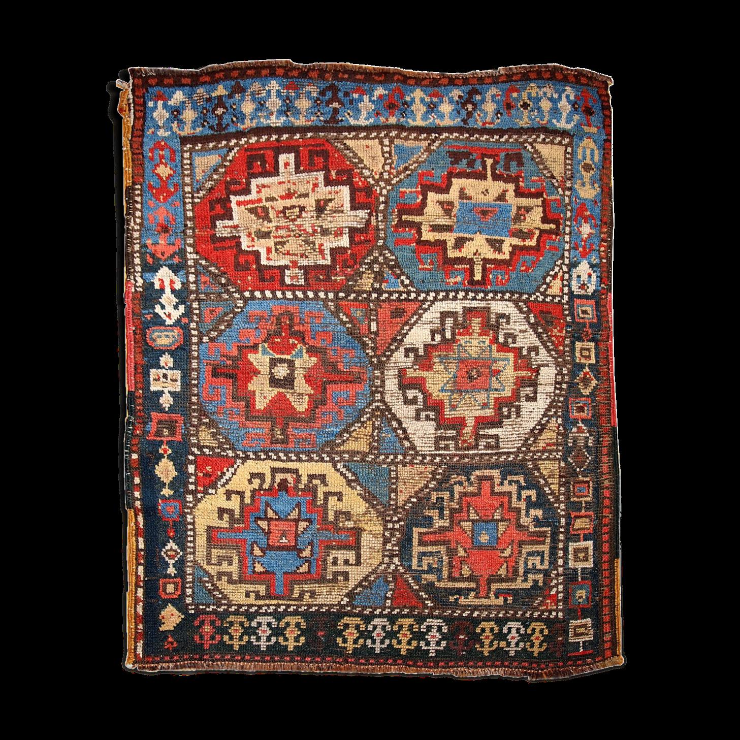 Tapis Ancien Collectable Persan Kurdish Fait Main 106 X 140cm Tapis Fait Main Et Persan