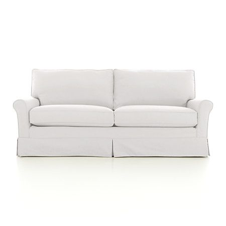 Harborside Sleeper Sofa From Crate Barrel Tons Of Colors And Slipcover Is Machine Washable Apartment Sofa Sofa Slipcovers