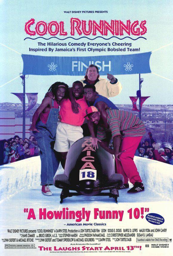 Cool Runnings 27x40 Movie Poster (1993)   Películas, Peliculas ...