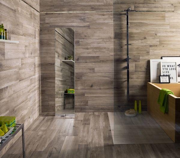 badezimmer fliesen in holzoptik wand ariana larix tortora perla grove collection fliesen. Black Bedroom Furniture Sets. Home Design Ideas
