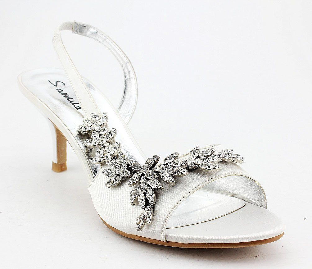 1000  images about shoes on Pinterest | Wedding shoes ivory, Satin ...