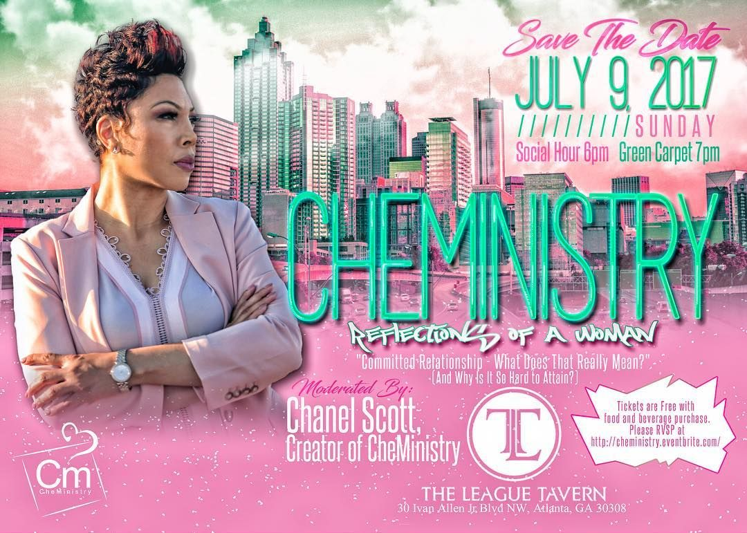 SAVE THE DATE} CheMinistry, a relationship platform AND Social Hour ...