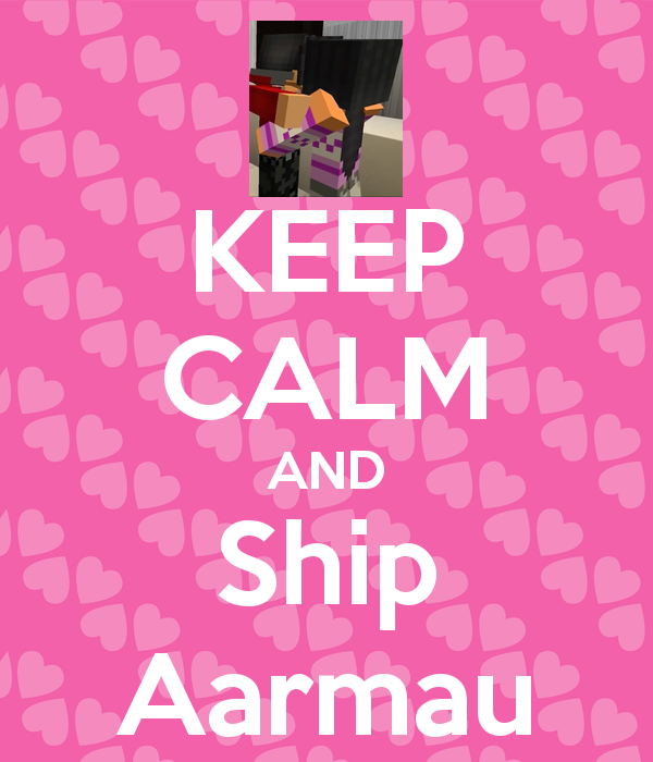 8aded2958c6c3 KEEP CALM AND Ship Aarmau Poster