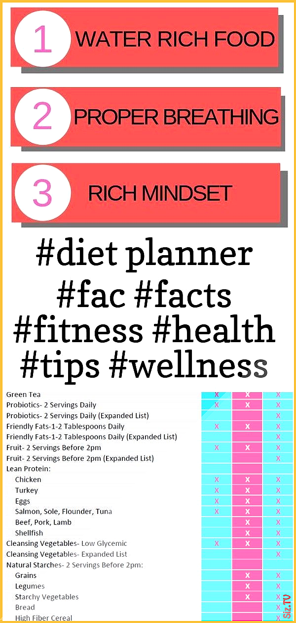 diet planner fac facts fitness health tips wellness facts fitness health tips health 038 fi diet pla...