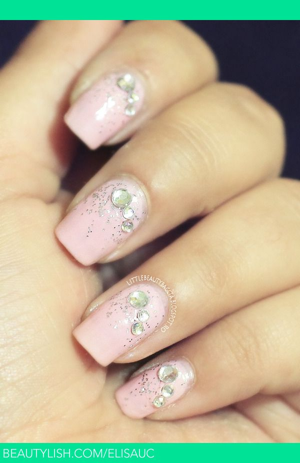 Soft Pink Jewel Nails | Elisa U.\'s (elisauc) Photo | Beautylish ...