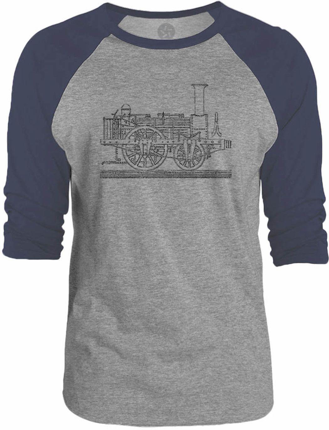 Big texas steam tram blueprint 34 sleeve raglan baseball t shirt big texas steam tram blueprint 34 sleeve raglan baseball t shirt malvernweather Gallery