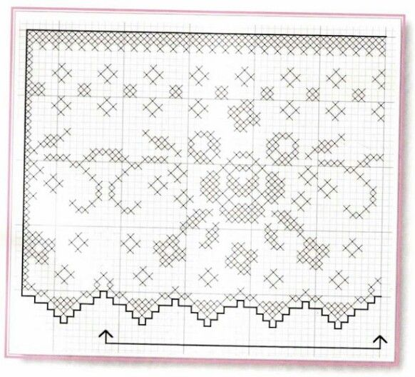 Picasa Web Albums Filet Crochet Pattern Diagram Filet Crochet