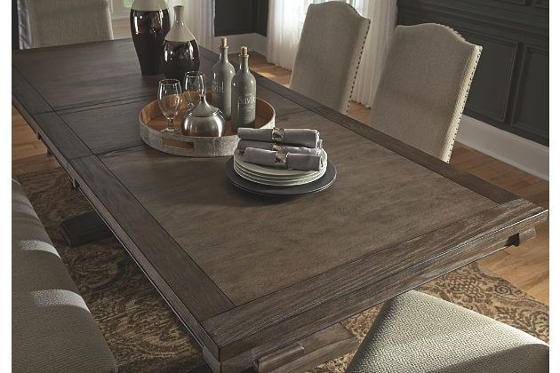 Johnelle Dining Room Extension Table Wood Dining Room Table