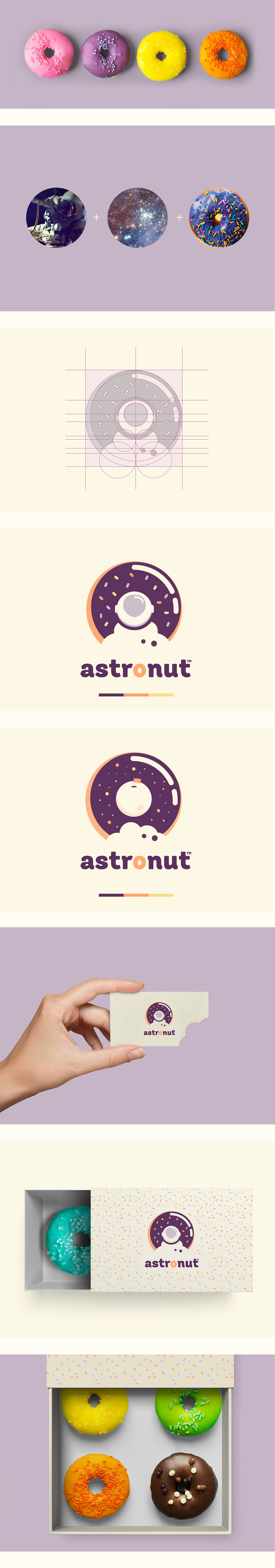 Branding, Packaging & Business Cards of Astronut that\'s a new bakery ...