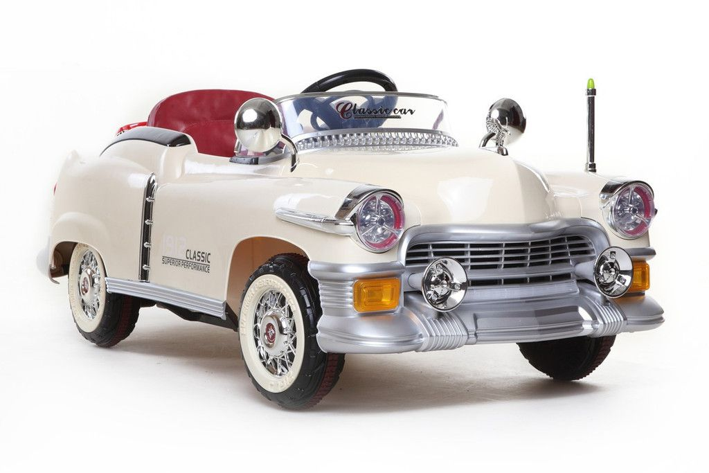 Tigris Wholesale Cream 50s Classic Roadster - 12V Kids\' Electric ...