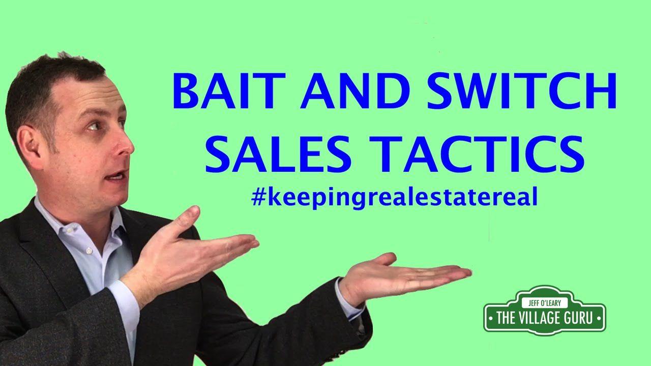 Bait and Switch Door to Door Sales Tactics