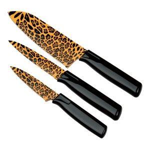 Kuhn Rikon Safari Leopard Kitchen Knife Set. 3pc i need these to go ...