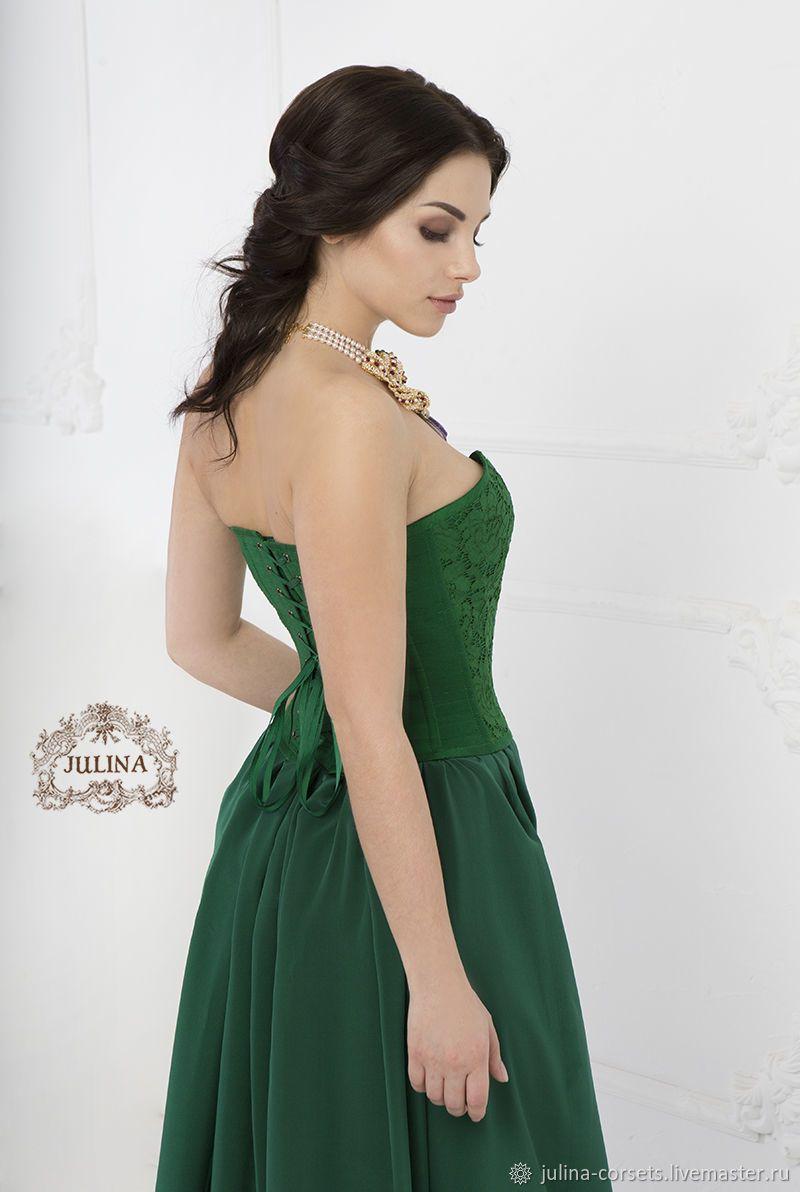 ddd677772e1 Платья ручной работы. Платье вечернее корсетное