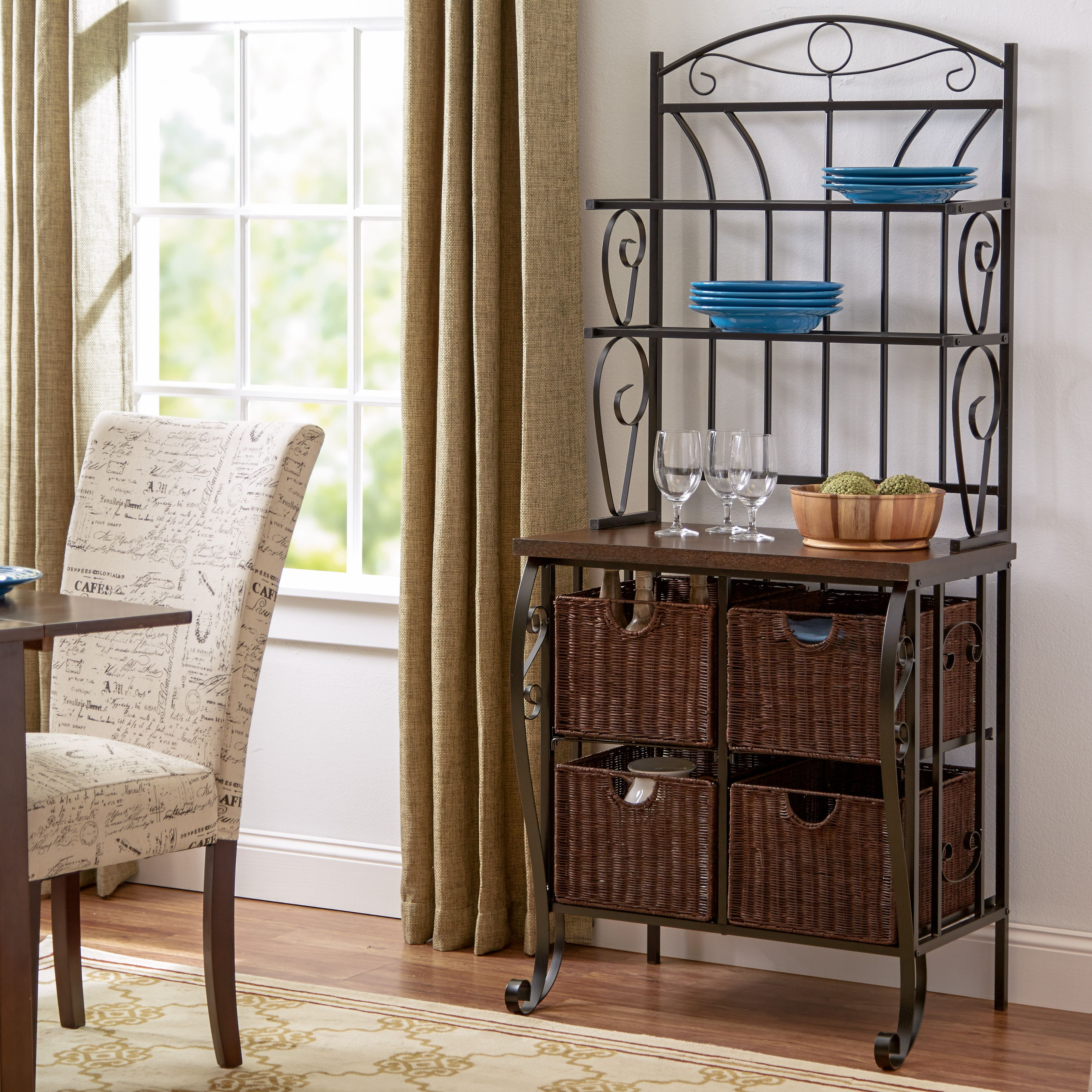 Andover Mills Buford Baker S Rack Apartment Decor Home Decor