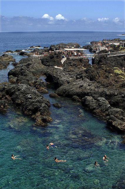 Piscinas naturales del Caletón, Garachico Tenerife,