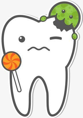 Vector De Dientes Y Gusanos Diente Los Barrenadores Cartoon Diente Png Y Vector Cuidado Dental Diente Dibujo Dental