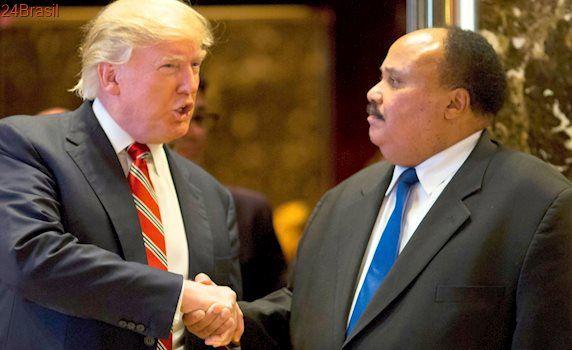 Martin Luther King III diz que encontro com Trump foi 'muito construtivo'