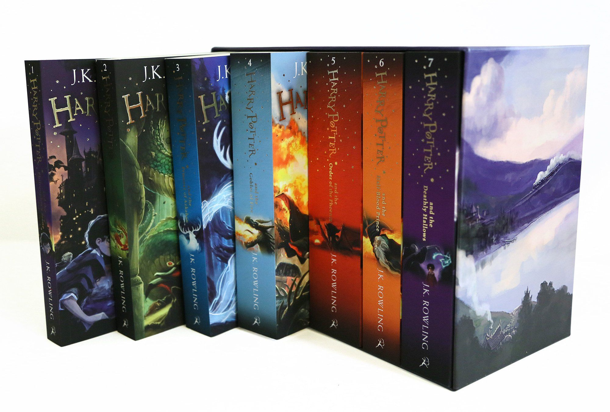 Amazon Fr Harry Potter Box Set The Complete Collection