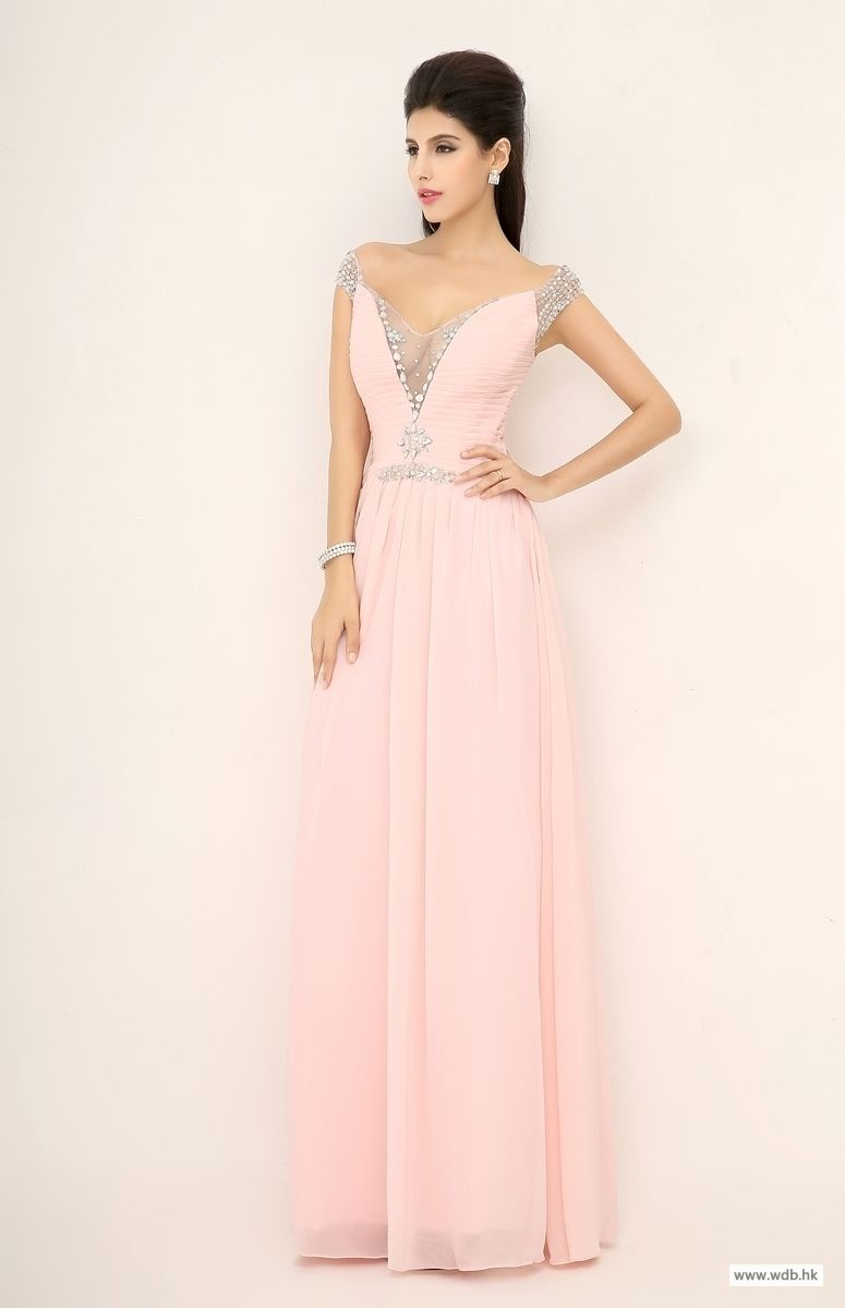 outdoor bridesmaid dresses READY TO SHIP: Attractive Beaded Off ...