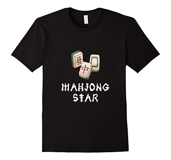 Amazon.com: Mahjong Star T-Shirt. Cute and Funny. Great gift for players: Clothing  Great gift for Mahjong players! Mahjong Star tshirt a unique bright gift idea for a friend or family member. Trendy, brightly colored graphics. Wear it day or night for an instantly awesome look!