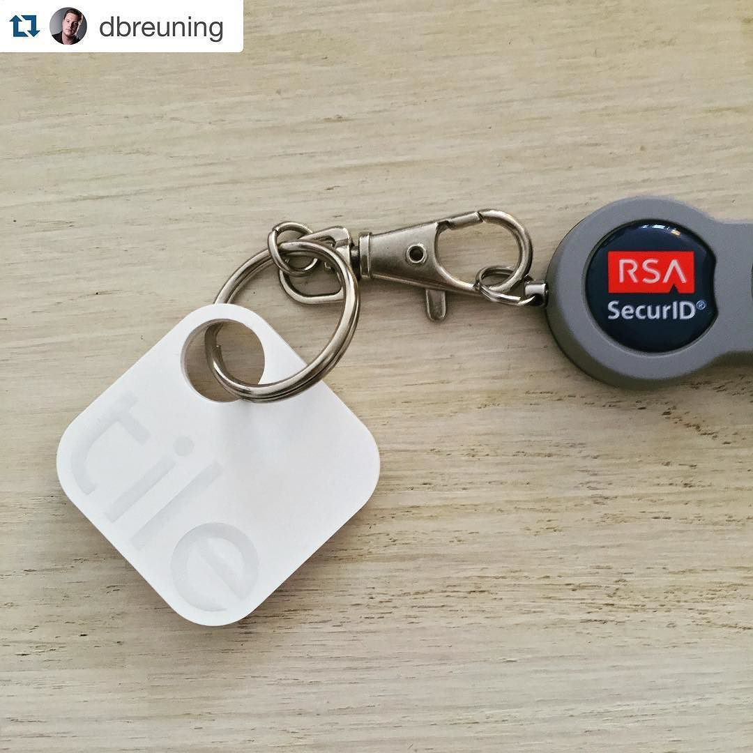 Protect your work id badge #Repost @dbreuning  Lost the previous one that's not going to happen again! #tiledit #tiledit  www.thetileapp.com