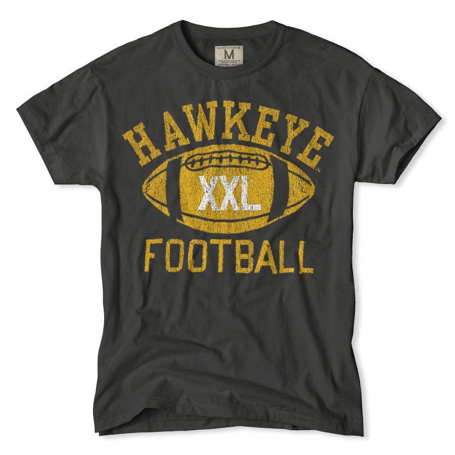 Iowa hawkeyes football t shirt iowa stuff pinterest for Iowa hawkeye t shirt