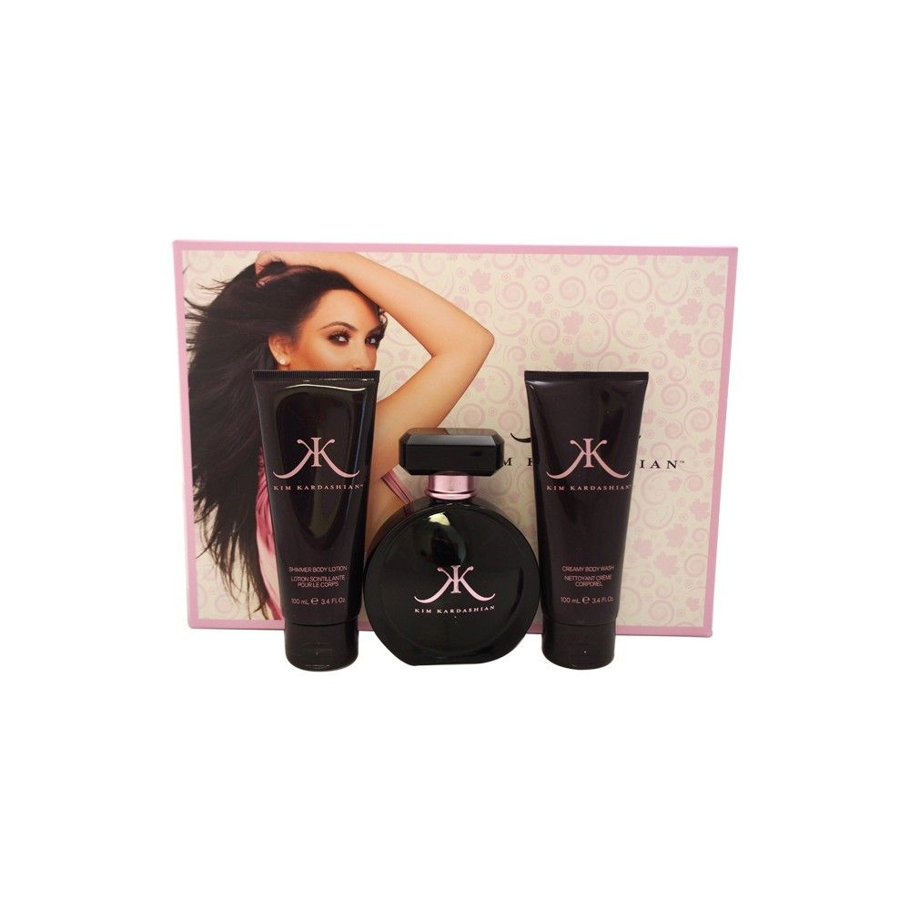 Kim Kardashian by Kim Kardashian for Women Fragrance Gift Set- 3pc