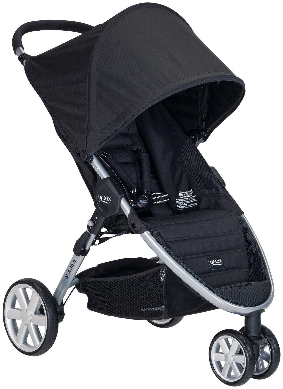 Britax BAgile 3 Stroller Black Umbrella stroller