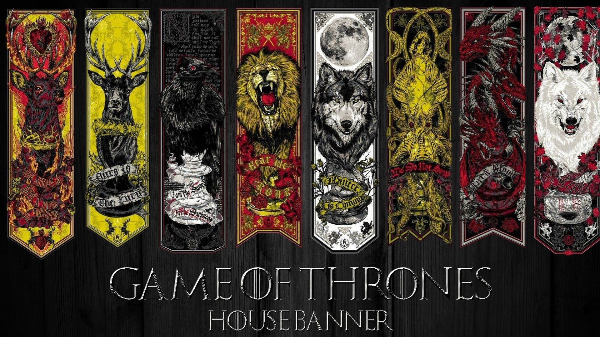 Game Of Thrones House Banner Wallpaper Cool UI