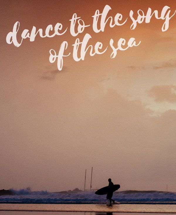 Dance to the Song of the Sea quotes, beach quotes, sunset ...
