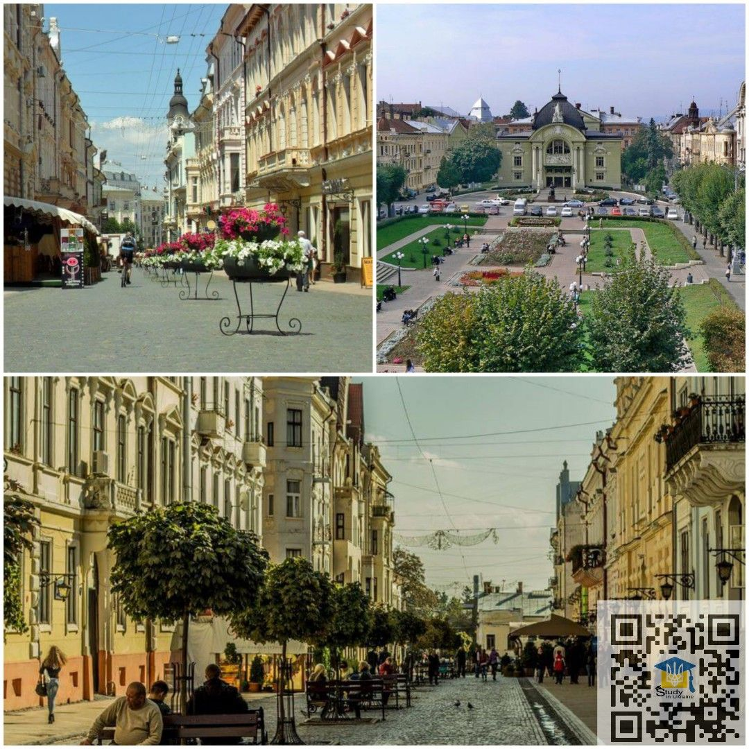 مدينة تشيرنفيتسي مدينة تشيرنيفتسي تقع في غرب أوكرانيا ويبلغ عدد سكانها حوالي 913275 ويبلغ مساحتها حوالي 8100 كم خلال التقييم بين أف Street View Views Street