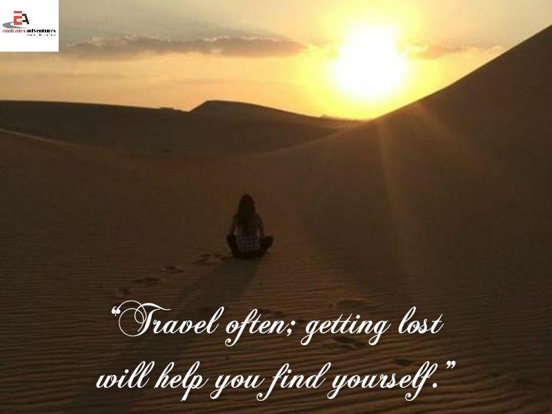 #MotivationalMondays #TravelQuotes Emirates Adventures Awe-Inspiring #Travel Quotes