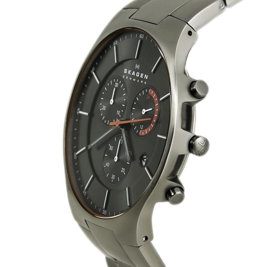 1c59c5c7fd307 Relógio Skagen Masculino Ref  Skw6076 1pn Slim Titânio - Relógios Web Shop