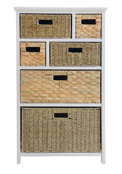 Superieur A Great Alternative To A Drawer Chest, This Smart 6 Basket Storage Unit  From Our Truro Range Is Ideal For Your Hallway, Bedroom Or Living Room.