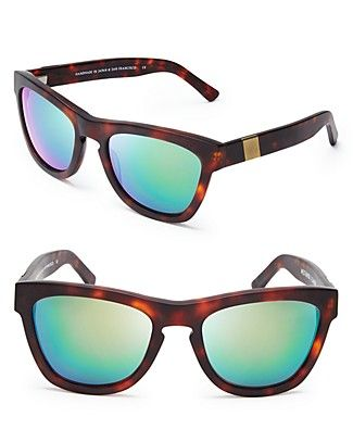 a4753e2790f Westward Leaning Louisiana Purchase Mirrored Wayfarer Sunglasses ...