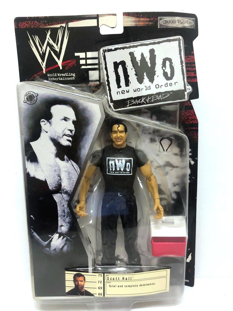 New World Order shirt for WWE Mattel figure wrestling toys NWO