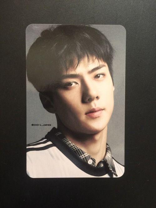 Sehun - 180131 'Countdown' album photocard Credit: EXO-L ...