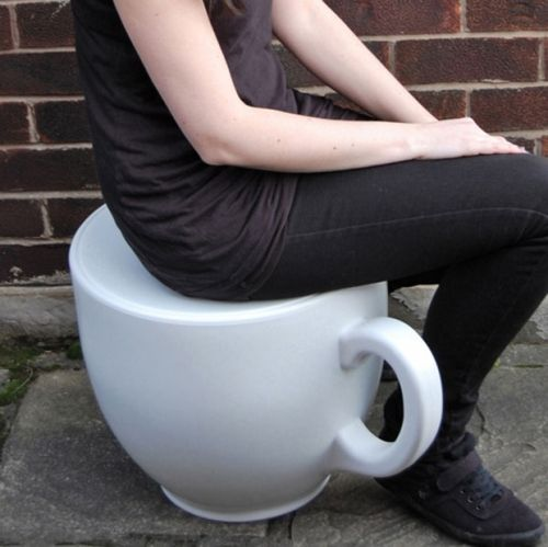 tea cup stool - fun!
