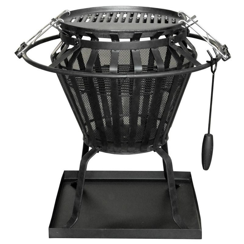 Bunnings Fire Pit Part - 15: Find Jumbuck Brazier - BBQ Fire Pit Combo At Bunnings Warehouse. Visit Your  Local Store For The Widest Range Of Outdoor Living Products.