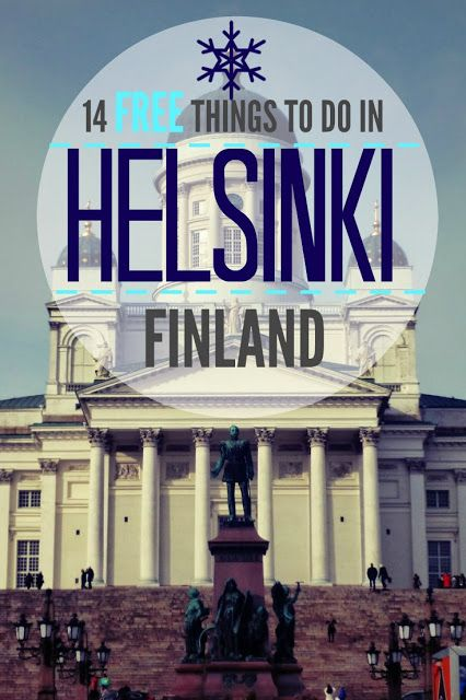 Travel Blog - Travelling Weasels: 14 FREE Things to do in Helsinki Finland