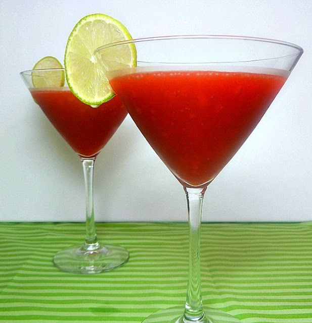 S is for Strawberry! Strawberry Daiquiris