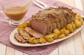 Photo of Roast veal with potatoes