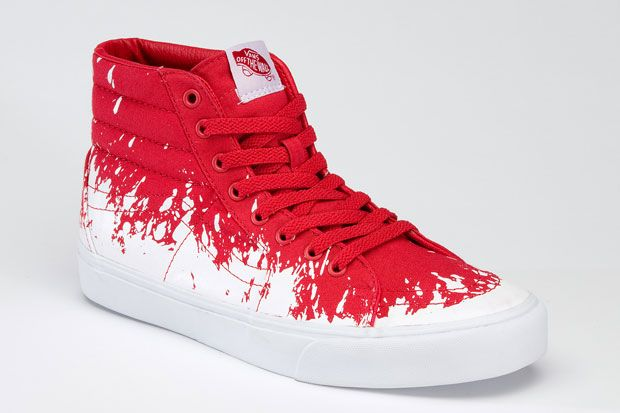 77a965210fd6 Zapatillas Vans Sk8-Hi Paint Stomp