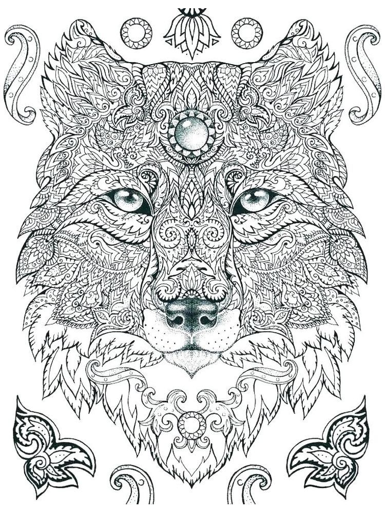 Hard Coloring Pages To Print Below Is A Collection Of Hard Image Coloring Page Which You Can In 2020 Animal Coloring Pages Lion Coloring Pages Mandala Coloring Books